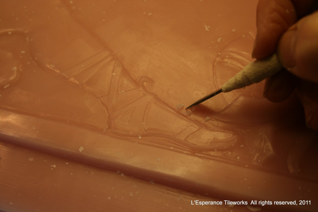 lesperance 03.wax carving